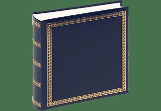 WALTHER Classicalbum Das schicke Dicke Fotoalbum, 100 Seiten, Kunstleder, Blau