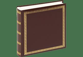 WALTHER Classicalbum Das schicke Dicke Fotoalbum, 100 Seiten, Kunstleder, Braun