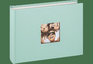 WALTHER Designalbum Fun Fotoalbum, 40 Seiten, Strukturpapier, Mintgrün