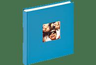 WALTHER Designalbum Fun Fotoalbum, 100 Seiten, Strukturpapier, Oceanblau