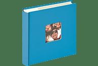 WALTHER Memo-Album Fun Fotoalbum, 100 Seiten, Strukturpapier, Oceanblau