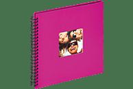 WALTHER Spiralalbum Fun Fotoalbum, 50 Seiten, Strukturpapier, Pink