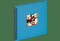WALTHER Spiralalbum Fun Fotoalbum, 50 Seiten, Strukturpapier, Oceanblau