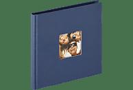 WALTHER Designalbum Fun Fotoalbum, 30 Seiten, Strukturpapier, Blau