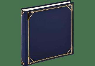 WALTHER Classicalbum Standard Fotoalbum, 100 Seiten, Kunstleder, Blau