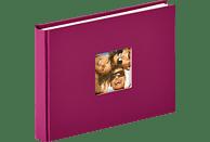 WALTHER Designalbum Fun Fotoalbum, 40 Seiten, Strukturpapier, Violett
