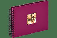 WALTHER Spiralalbum Fun Fotoalbum, 40 Seiten, Strukturpapier, Violett