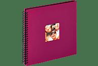 WALTHER Spiralalbum Fun Fotoalbum, 50 Seiten, Strukturpapier, Violett
