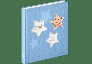 WALTHER Estrella Fotoalbum, 50 Seiten, Kunstdruck, Blau