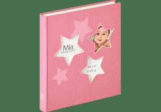 WALTHER Estrella Fotoalbum, 50 Seiten, Kunstdruck, Rosa