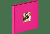WALTHER Designalbum Fun Fotoalbum, 30 Seiten, Strukturpapier, Pink