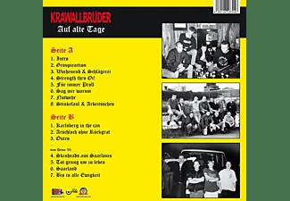Krawallbrüder - AUF ALTE TAGE (LIM.180G RED VINYL)  - (Vinyl)