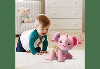 VTECH Krabbel-mit-mir-Elefant pink Plüschfigur, Mehrfarbig