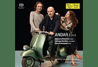 Bianchini, Eleonora, Biondini, Luciano, Pietropao - Andar Live (Natural Sound Recording)  - (SACD Hybrid)