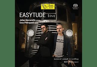 Julian  Mazzariello, Enzo Pietropaoli - Easytude Live (Natural Sound Recording)  - (SACD Hybrid)