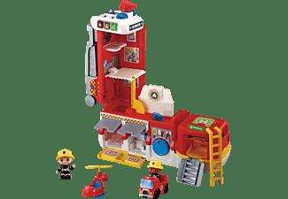 VTECH 2-in-1-Feuerwehrstation Spielset, Mehrfarbig