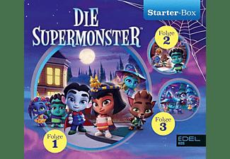 Die Supermonster - Die Supermonster Starter-Box(1)  - (CD)