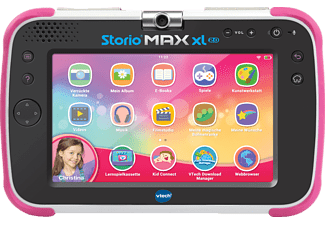 VTECH Storio MAX XL 2.0 pink Kindertablet, Mehrfarbig