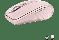 LOGITECH MX Anywhere 3 ergonomische kabellose Maus, Rosa