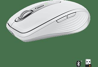 LOGITECH MX Anywhere 3 ergonomische kabellose Maus, Pale Gray