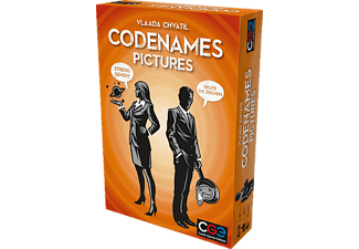 CHECH GAMES EDIT Codenames Pictures Gesellschaftsspiel Mehrfarbig