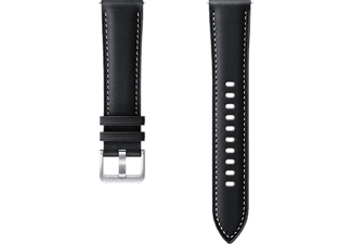 SAMSUNG Stitch Leather Band - Armband (Schwarz)