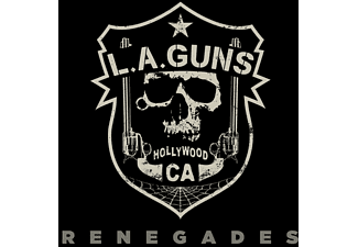 The L.a.guns - RENEGADES (LIM CLEAR VINYL)  - (Vinyl)