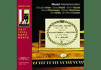 VARIOUS - Grosse Pianisten-Klaviersonaten  - (CD)