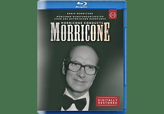 Münchner Rundfunkorchester - MORRICONE CONDUCTS MORRICONE  - (Blu-ray)
