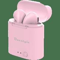 CORN TECHNOLOGY TWS-BT-V7 plus, In-ear Kopfhörer Bluetooth Pink