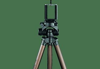 ISY IPT-1250 Dreibein Stativ, Schwarz/Braun, Höhe offen bis 1250 mm