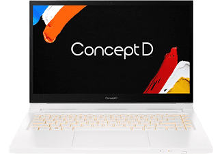 ACER ConceptD 3 Ezel Pro (CC314-72P-75P3) Creator Notebook,  mit 14 Zoll Display, Core i7 Prozessor, 16 GB RAM, 1 TB SSD, Quadro T1000, Weiß