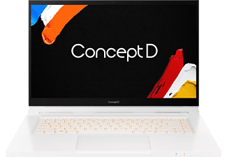 ACER ConceptD 3 Ezel Pro (CC315-72P-79TG) Creator Notebook mit 15,6 Zoll Display, Core i7 Prozessor, 16 GB RAM, 1 TB SSD, Quadro T1000, Weiß