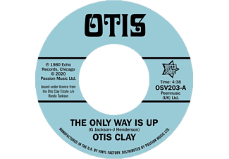 Otis Clay - THE ONLY WAY IS UP/MESSING WITH MY MIND  - (Vinyl)