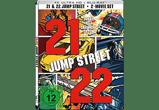 21 + 22 Jump Street 4K Ultra HD Blu-ray + Blu-ray