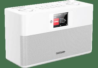 KENWOOD. Smart-Radio CRST100SW mit DAB+, Internetradio, UKW, Bluetooth, USB, Farbdisplay, weiß