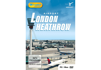 PC/Mac - XPlane 11: Airport London Heathrow (Add-on) /D
