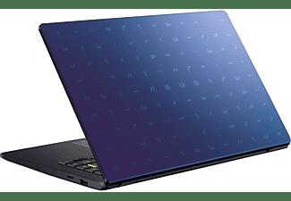 ASUS VivoBook 14 E410MA-EK007TS, Notebook mit 14 Zoll Display, Celeron® Prozessor, 4 GB RAM, 64 GB eMMC, Intel® UHD Grafik 600, Peacock Blue