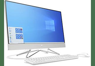 HP 27-dp0302ng, All-in-One-PC mit 27 Zoll Display, AMD Ryzen™ 5 Prozessor, 16 GB RAM, 512 GB SSD, Radeon Graphics, Silber