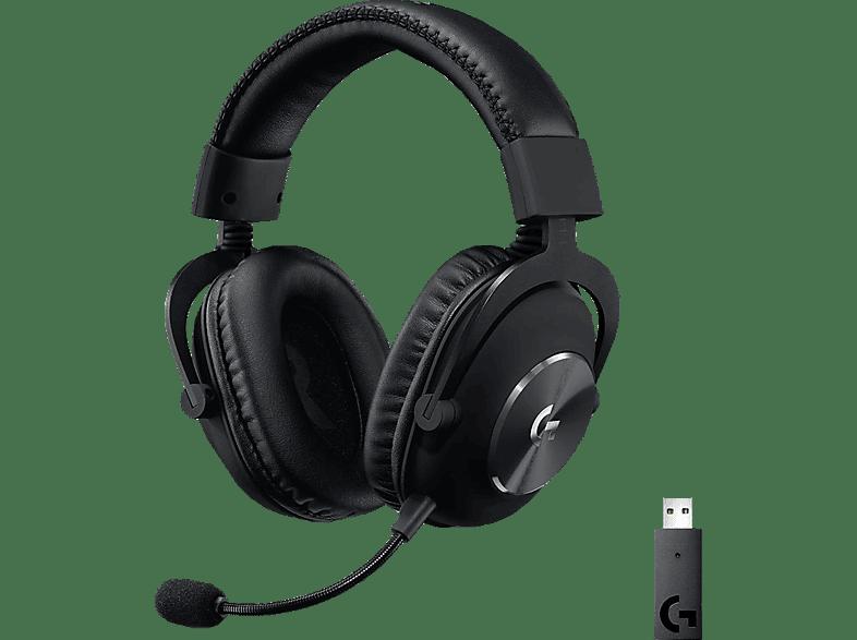 LOGITECH Kabelloses PRO X LIGHTSPEED , Over-ear Gaming Headset Schwarz