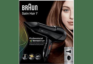 Secador de Pelo - Braun, Satin Hair 7 HD785 SensoDryer con sensor de temperatura, motor AC y tecnología iónica