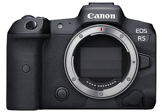 Cámara EVIL - Canon EOS R5, Cuerpo, 45 megapixel, CMOS, 8 cm, Digic X, WiFi, Vídeo 8K, Negro