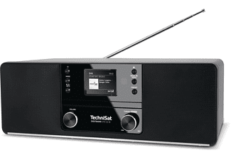 TECHNISAT DIGITRADIO 370 CD IR Internetradio, DAB, DAB+, AM, FM, Internet Radio, Bluetooth, Schwarz