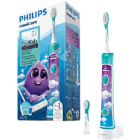 PHILIPS Sonicare For Kids HX6322/04 elektrische Schallzahnbürste, weiß