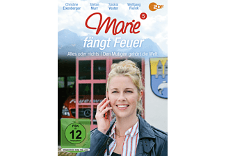 Marie fängt Feuer 5: Alles oder nichts / Den Mutigen gehört die Welt DVD