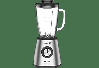 KRUPS KB439D Blendforce 2 Standmixer Silber (800 Watt, 1.25 Liter)