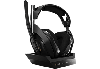 ASTRO GAMING A50 Wireless + Base Station for Xbox One, Xbox X|S, Over-ear Gaming Headset Schwarz/Gold
