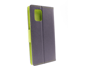 AGM 30692, Bookcover, Xiaomi, Mi 10 lite, Blau/Lime