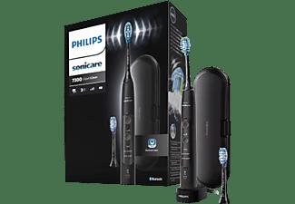 PHILIPS Sonicare HX9601/02 ExpertClean 7300 elektrische Schallzahnbürste, schwarz