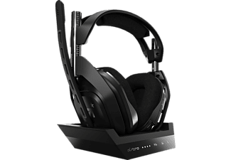 ASTRO GAMING A50 Wireless + Base Station for PlayStation® 4/5/PC, Over-ear Gaming Headset Schwarz